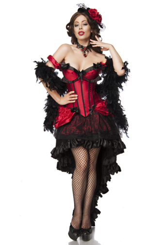 Burlesque Saloon Girl