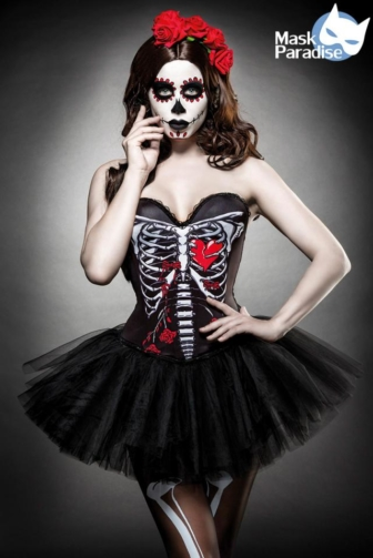 Day of the Dead Costume: Skull Senorita