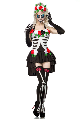 Day of the Dead Costume: Mexican Skeleton